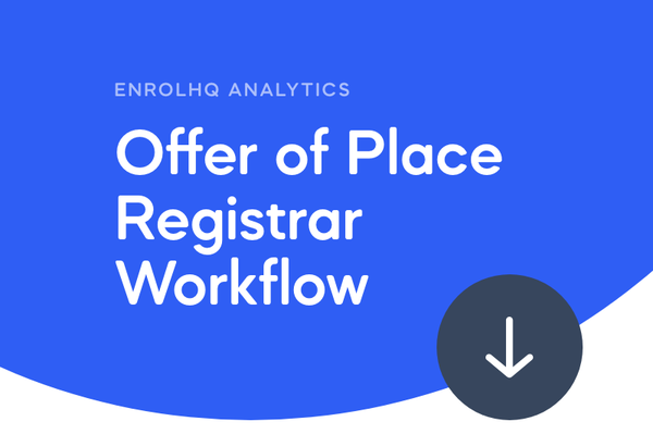 Offer of Place Workflow