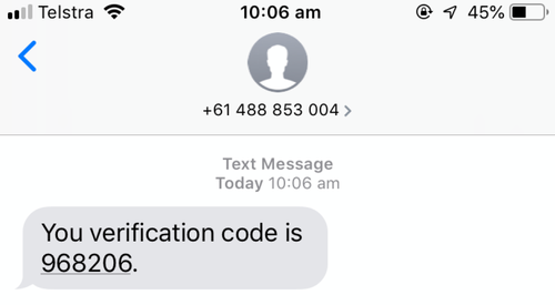 mobile phone code