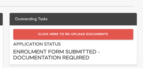 Re-Upload Documents from Parent Portal